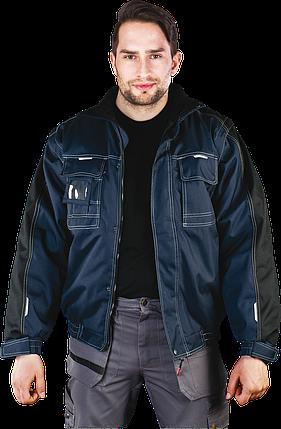 Куртка LH-COVER GB  зимняя с отстегивающимися рукавами. Польша (утепленная рабочая одежда), фото 2