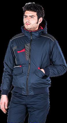 Куртка LH-DROSSEL зимняя с ПВХ покрытием Польша (утепленная рабочая одежда), фото 2