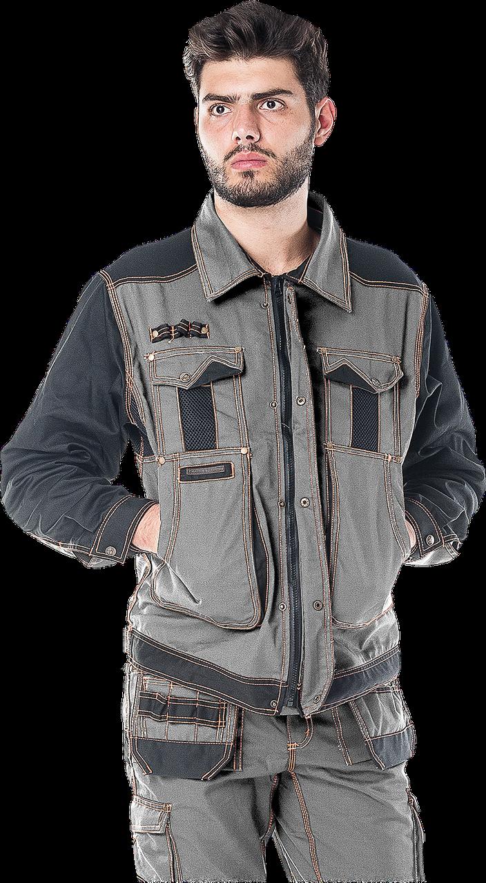 Блуза LH-RG-J рабочая торговой маркu LEBER HOLLMAN - Германия