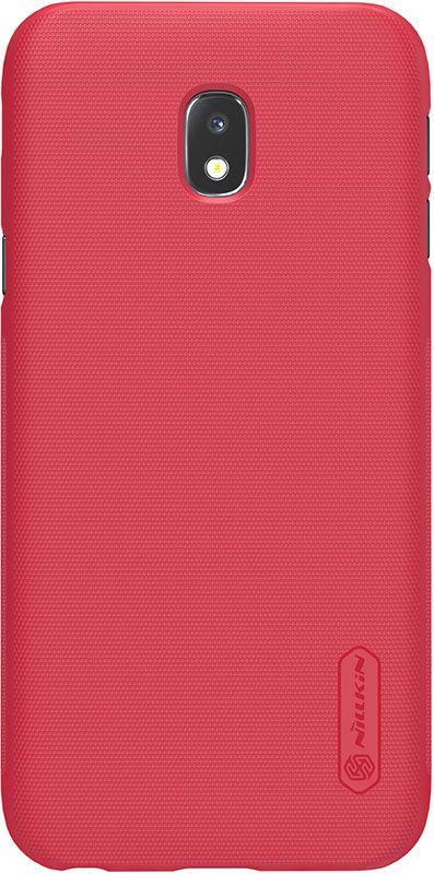 Чехол Nillkin Super Frosted Shield для Samsung Galaxy J3 2017 (J330) Red
