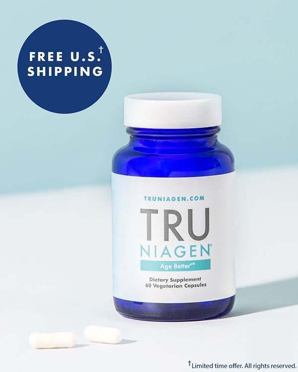 Никотинамид рибозид (NAD), TRU NIAGEN, 150 мг, 60 капсул. Сделано в США.