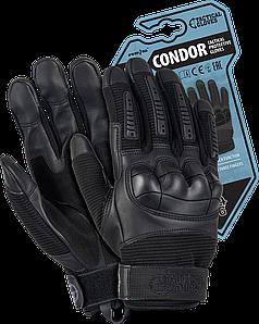 Перчатки RTC-CONDOR B рабочие выполнены из пряжи и синтетической кожи. REIS Польша