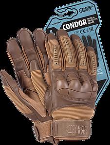 Перчатки RTC-CONDOR COY рабочие выполнены из пряжи и синтетической кожи. REIS Польша