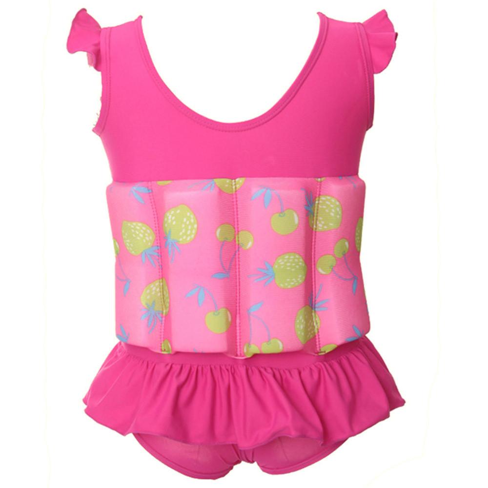 Купальник-поплавок для девочек Safe baby swim M Розовый