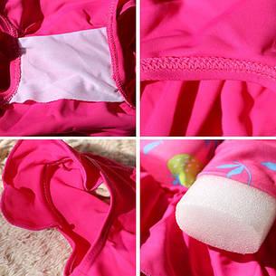 Купальник-поплавок для девочек Safe baby swim M Розовый, фото 2