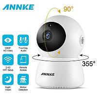 ANNKE домашняя беспроводная ip-камера безопасности Wi-Fi 1080P. Ночное видение. Двухсторонняя аудио.IPC360