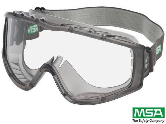 Противоосколочные защитные очки MSA-GOG-FLEXICHEM рабочие MSA-Швейцария, фото 2