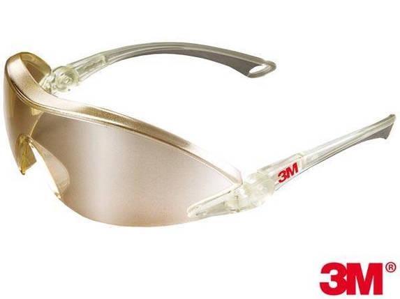Противоосколочные защитные очки 3M-OO-2844 рабочие -  США 3М, фото 2