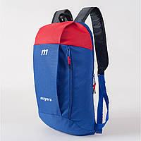 Спортивный рюкзак унисекс MAYERS 10L,синий. Молодежный рюкзакв школу