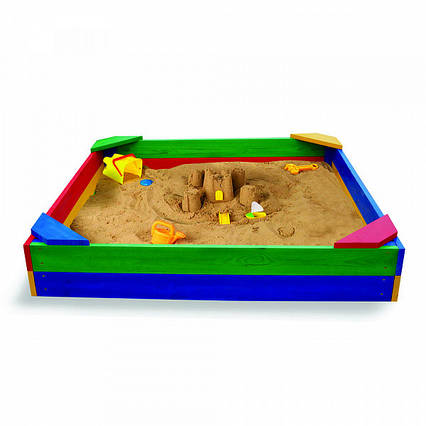 Песочница детская 145x145 см. SportBaby