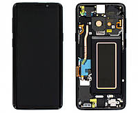 Дисплейный модуль (экран сенсор) для Samsung Galaxy Note 9 N960 с рамкой metallic Copper #GH97-22269