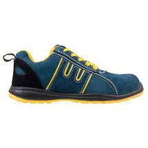 Мягкая обувь 212 OB защитная без металлического носка, желто-синего цвета.  Urgent (POLAND), фото 3