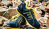 Мягкая обувь 212 OB защитная без металлического носка, желто-синего цвета.  Urgent (POLAND), фото 4