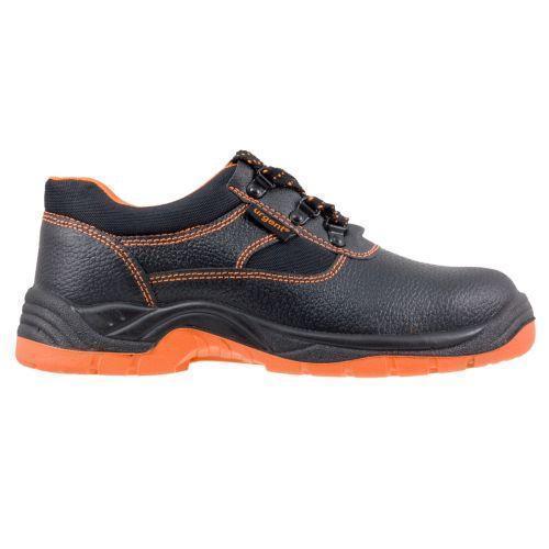 Обувь 201S1 антистатическая с металлическим носком закрытая пятка, черно-оранжевого. Urgent (POLAND)