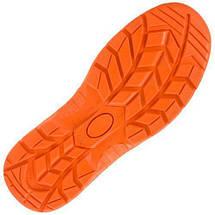 Обувь 201S1 антистатическая с металлическим носком закрытая пятка, черно-оранжевого. Urgent (POLAND), фото 2