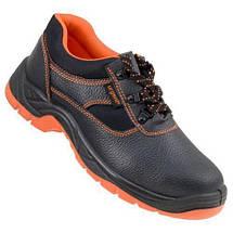 Обувь 201S1 антистатическая с металлическим носком закрытая пятка, черно-оранжевого. Urgent (POLAND), фото 3