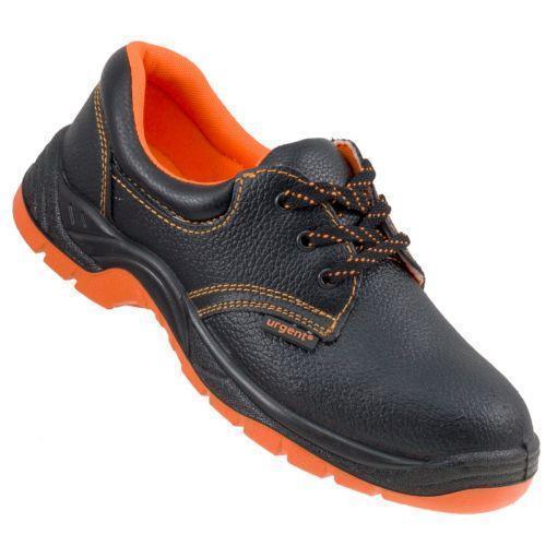 Обувь 201 OB защитная без металлического носка, черно-оранжевого цвета. Urgent (POLAND)