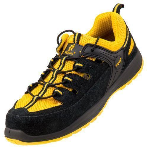Сандали 311 S1 с металлическим носком, антистатические, желтого цвета. Urgent (POLAND)