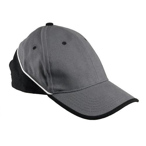 Кепка TOP со светоотражающей полоской, серо-черного цвета Urgent (POLAND)