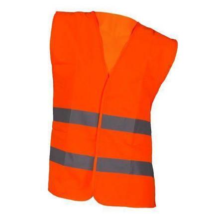 Жилет Kamizelka pomarańczowa со светоотражающими полосами, оранжевого цвета. Urgent (POLAND), фото 2