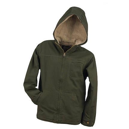 Куртка демисезонная KURTKA URG-3330 OLIVE выполнена из 100% хлопка, оливкового цвета.  Urgent (POLAND), фото 2