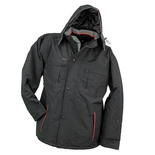 Куртка рабочая KURTKA OCIEPLANA URG-O из полиэстера, серого цвета.  Urgent (POLAND)