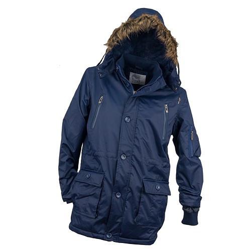 Куртка рабочая KURTKA OCIEPLANA URG-1720 ROYAL из полиэстера, синего цвета.  Urgent (POLAND)