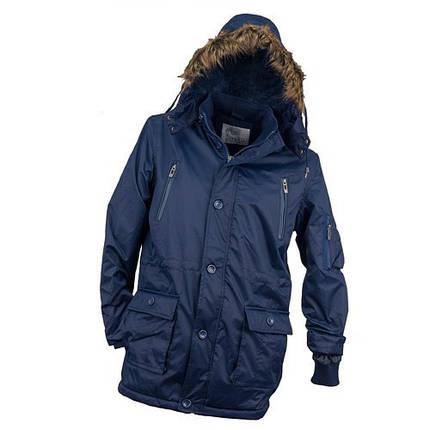 Куртка рабочая KURTKA OCIEPLANA URG-1720 ROYAL из полиэстера, синего цвета.  Urgent (POLAND), фото 2