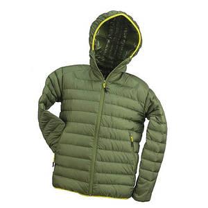 Курточка демисезонная URG-PK выполнена  из 100% полиамида, зеленого цвета.   Urgent (POLAND)