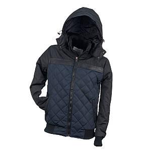 Курточка стёганная URG-BBJA NAVY из полиэстера, черно-синего цвета.  Urgent (POLAND)