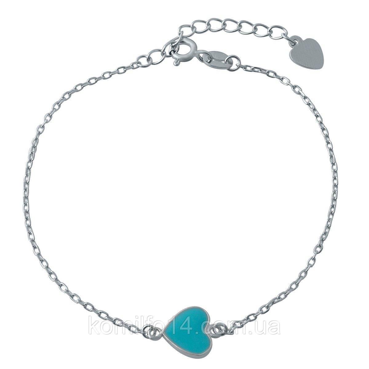 Женский серебряный браслет в стиле Tiffany & Co