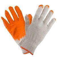 Перчатки рабочие 1014 (ВАМПИРКИ) покрыты латексом, оранжевого цвета. Urgent (POLAND)
