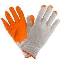 Перчатки рабочие 1014 (ВАМПИРКИ) покрыты латексом, оранжевого цвета. Urgent (POLAND), фото 2