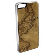 Панель CARVED из натурального дерева для Apple iPhone 5/5S/SE Оливковый ясень (I5-CC1D)
