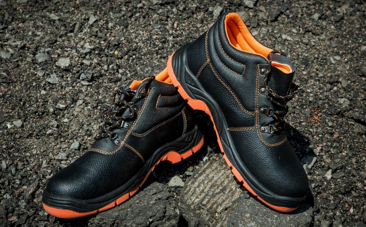 Ботинки 101 SB из буйволовой кожи с металлическим носком,антистатические. URGENT (POLAND)
