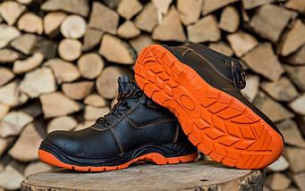 Ботинки 101 SB из буйволовой кожи с металлическим носком,антистатические. URGENT (POLAND) , фото 3