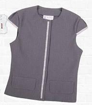 Школьная форма для девочки. Шикарный нарядный школьный жакет для девочки. Mone, Украина, 134 см