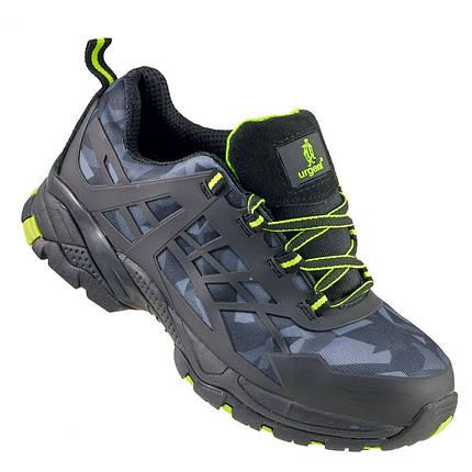 Кроссовки Półbut 238 S1 защитые с металлическим носком, черного цвета.  URGENT (POLAND) , фото 2