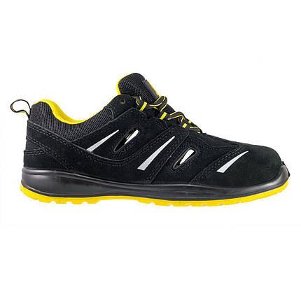 Кроссовки  206 S1  защитные с металлическим носком, черно-желтого цвета.  URGENT (POLAND), фото 2