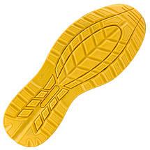 Кроссовки  206 S1  защитные с металлическим носком, черно-желтого цвета.  URGENT (POLAND), фото 3