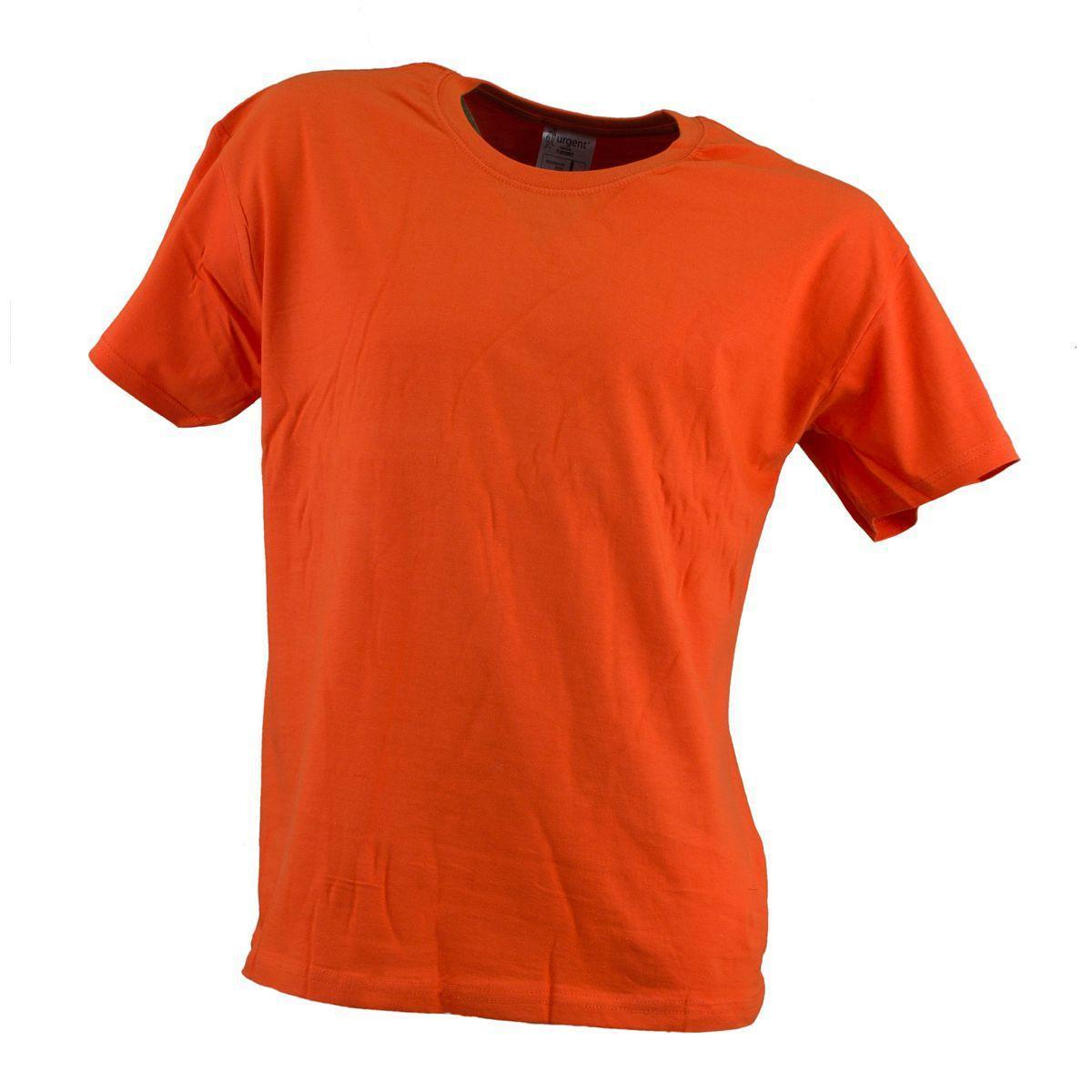 Футболка T-SHIRT MĘSKI POMARAŃCZ 180g плотностью 180g, оранжевого цвета.  Urgent (POLAND)