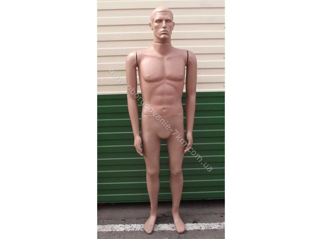 Манекен мужской пластиковый Сенсей