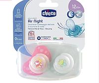 Силиконовая пустышка Chicco Physio Air, 12+, 2 шт.
