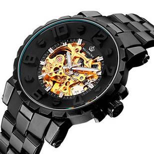 Мужские часы Orkina 1154 Черные