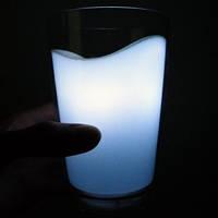 Ночник стакан с молоком milk glass cup Видео, фото 1