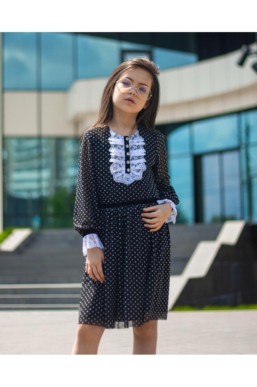 Платье детское школьное для девочки SH73, размеры 128-158