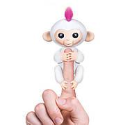 Игрушка интерактивная Happy Monkey Белая (2000)