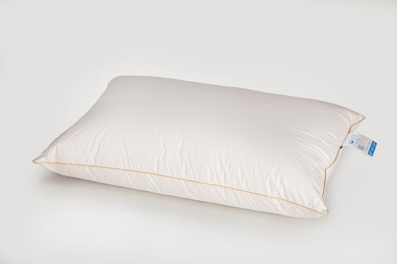 Подушка IGLEN пухо-перьевая 10% пух 90% мелкое перо 70x70 см Белая (70703)