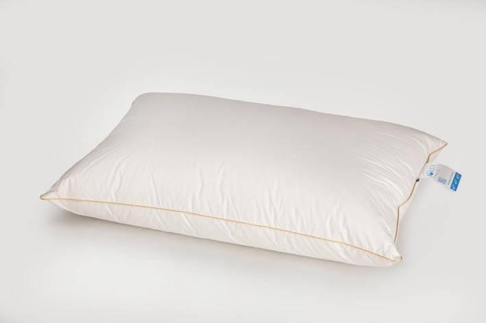 Подушка IGLEN пухо-перьевая 10% пух 90% мелкое перо 70x70 см Белая (70703), фото 2