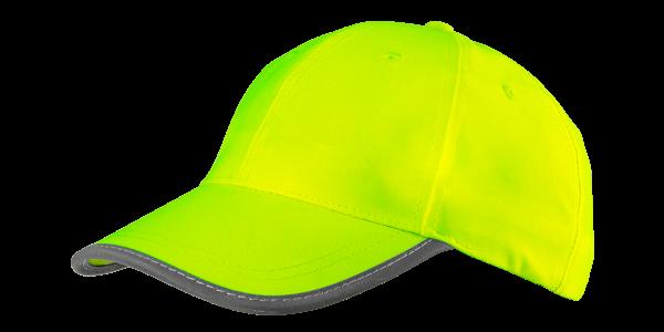 Бейсболка сигнальная желтая 81793, однотонная, универсальный размер NEO TOOLS
